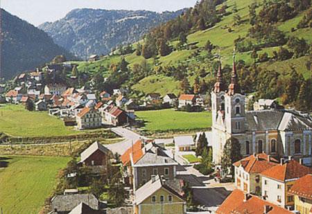 mesta ziri cerkev Žiri