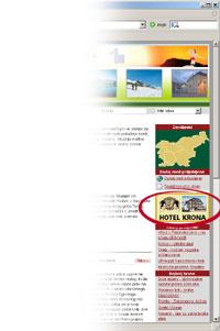 oglasni prostor reklama na desni Oglasni prostor