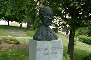 Spomin na književnika Edvarda Kocbeka