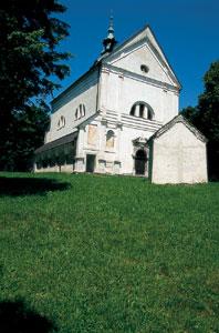 Baročna cerkev sv. Trojice na Klancu