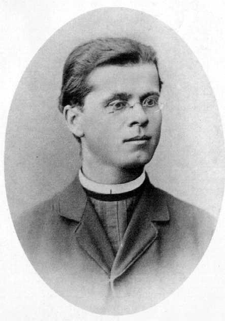 portret Simon Gregorčič