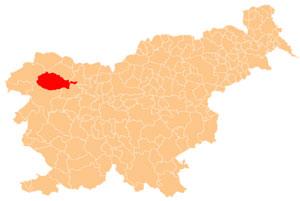 Bohinj - karta