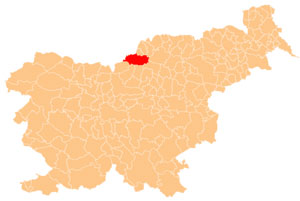 Črna na Koroškem - karta