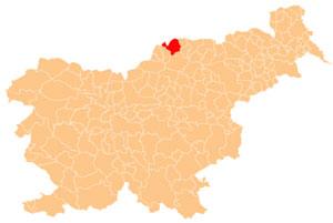 Dravograd - karta
