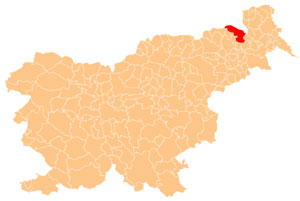 Gornja Radgona - karta
