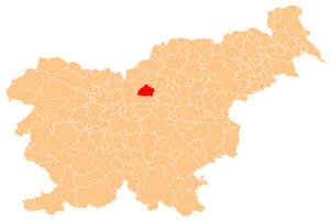 Gornji Grad - karta