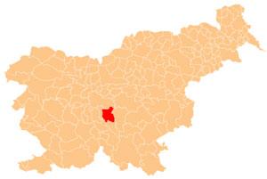 Grosuplje - karta