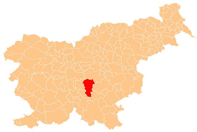 Ivančna Gorica - karta