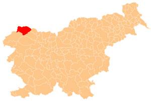Kranjska Gora - karta