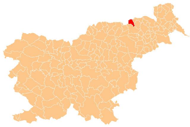 Kungota - karta