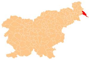 obcine lendava karta Občina Lendava