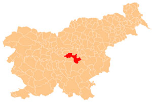 Litija - karta