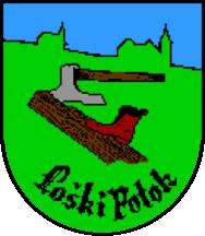 Loški Potok - grb