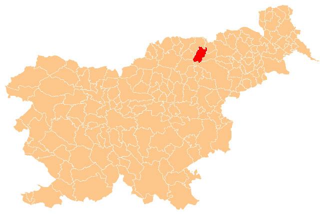 Lovrenc na Pohorju - karta