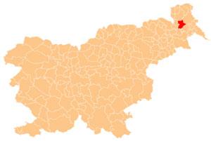 Murska Sobota - karta