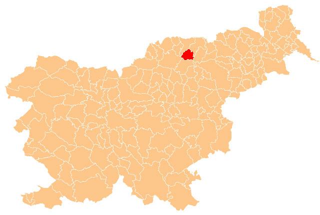 Ribnica na Pohorju - karta