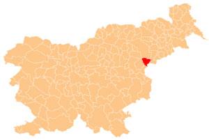 Rogaška Slatina - karta