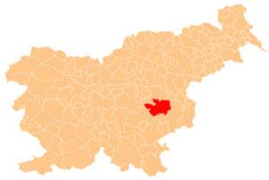 Sevnica - karta