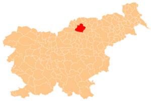 Slovenj Gradec - karta