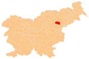 Slovenske Konjice - karta