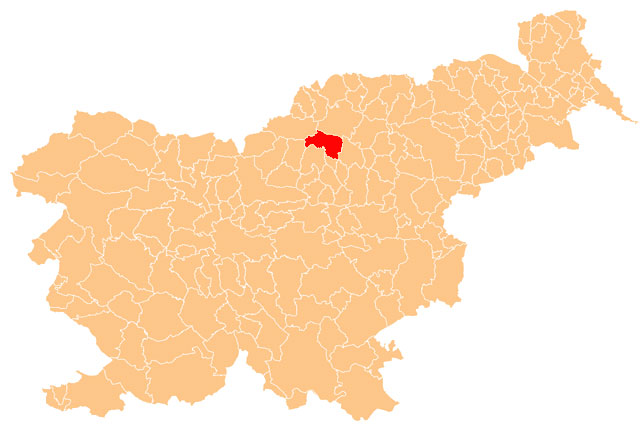 Šoštanj - karta