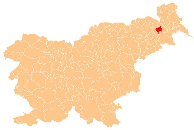 Sveti Jurij ob Ščavnici - karta