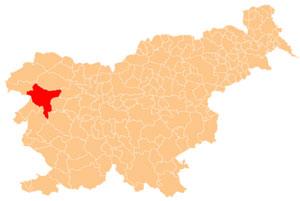 Tolmin - karta