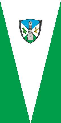 Železniki - zastava