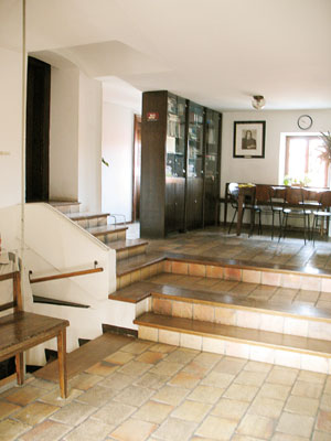 Vodnikova hiša - stopnice