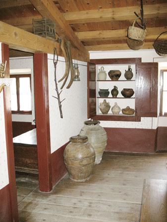 Notranjost muzeja