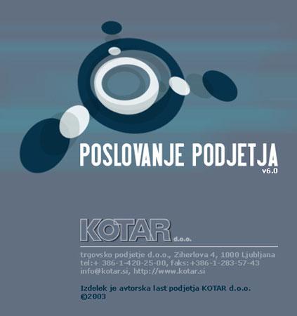 predstavitve kotar splash blue Kotar