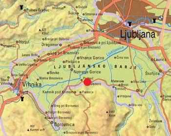 Ljubljansko barje - Podpeško jezero