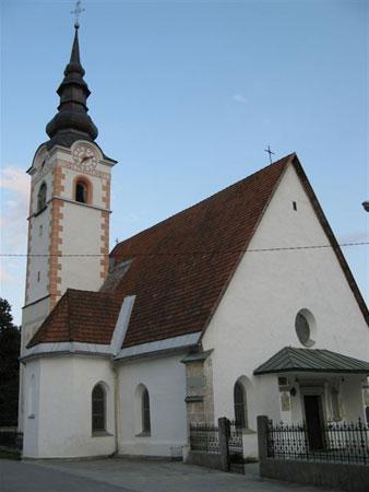 Cerkev v Mošnjah