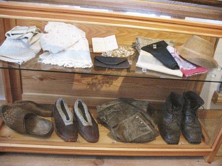 Narodna noša obutev