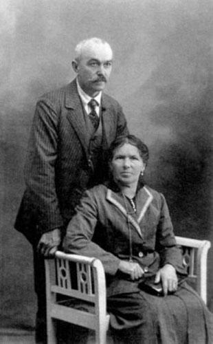 Starša Franc Rusjan in Grazia Cabas