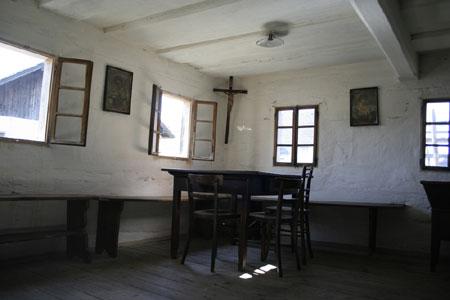 Notranjost hiše