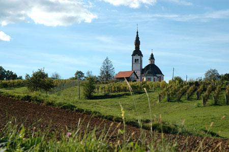 Cerkev sv. Trojice na Vinjem vrhu pri Semiču