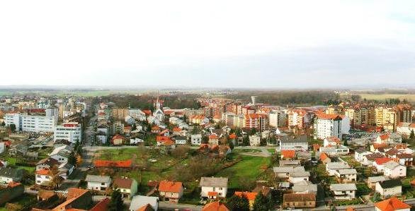 Panorama Murske Sobote