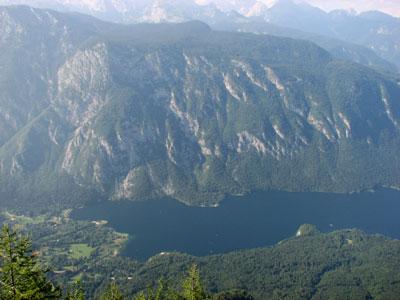 blogi 381 bohinjsko jezero z vogla Vogel v očeh ne smučarke :)