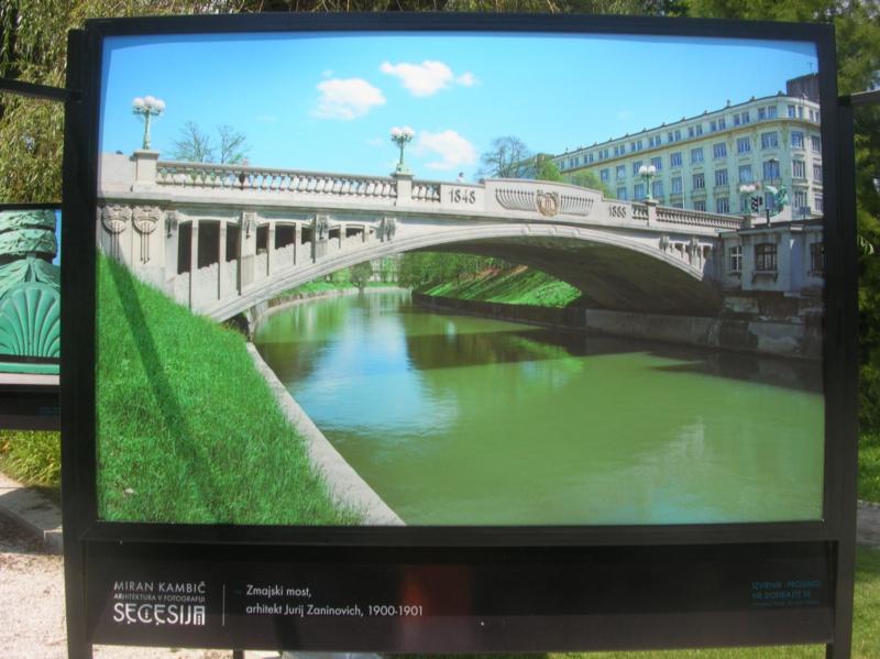 Zmajski most - Ljubljana