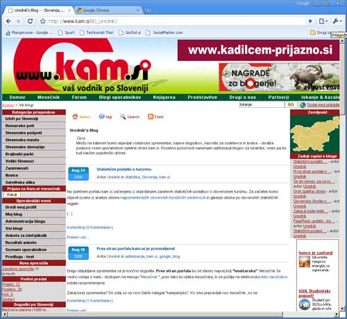 blogi 80 Kam.si v google chrome Google Chrome