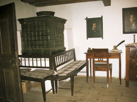 Hiša s pečjo in portretom Vojteha Kurnika