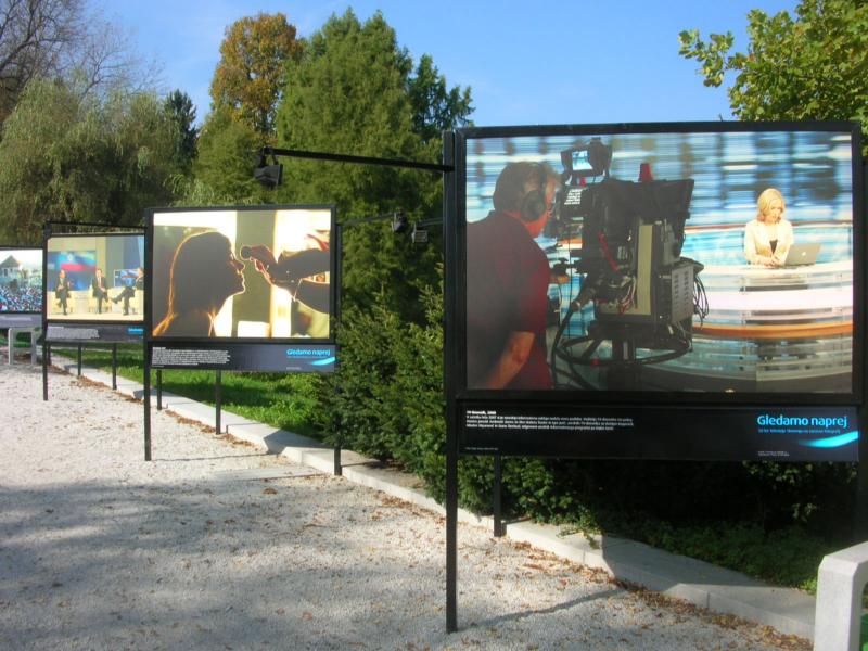 Razstava - Tivoli - 50. letnica RTV Slovenija