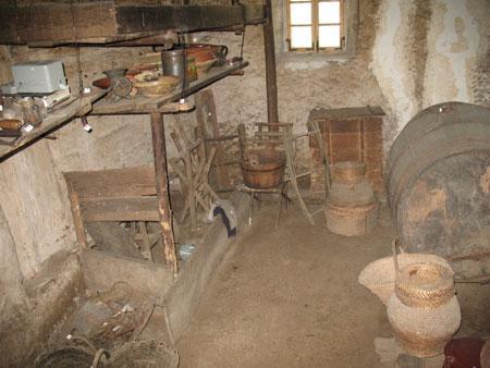 Klet je najstarejši prostor v hiši z letnico 1508