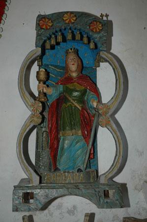 Sv. Barbara v cerkvi sv. Barbare