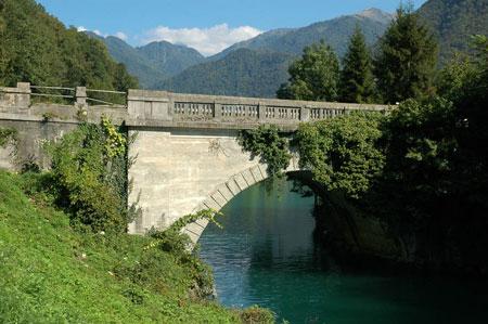 Most čez Sočo