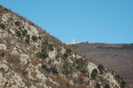 Znamenita romarska bazilika iz Solkana