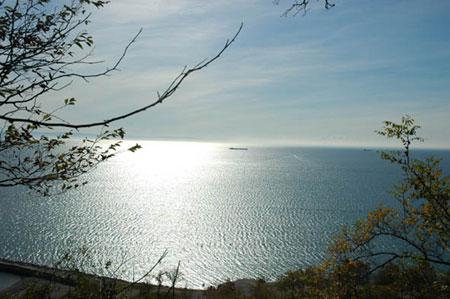 Pogled proti Tržaškemu zalivu