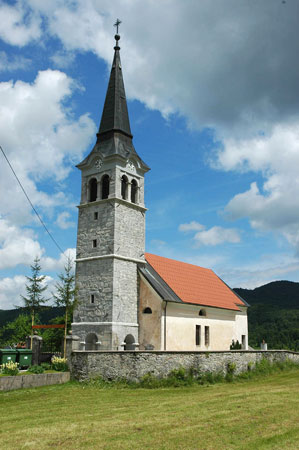 Župnijska cerkev sv. Nikolaja v Babnem Polju