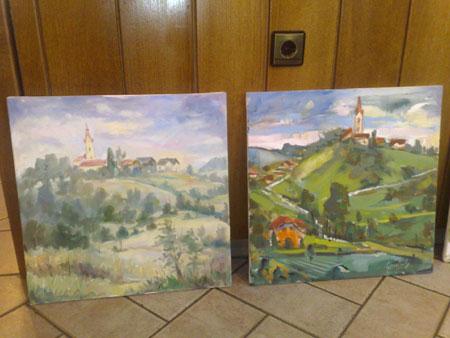 blogi 62 01 slikarska kolonija Kozjanski raj na platnih likovnih ustvarjalcev